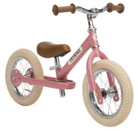 Trybike Steel loopfiets vintage pink