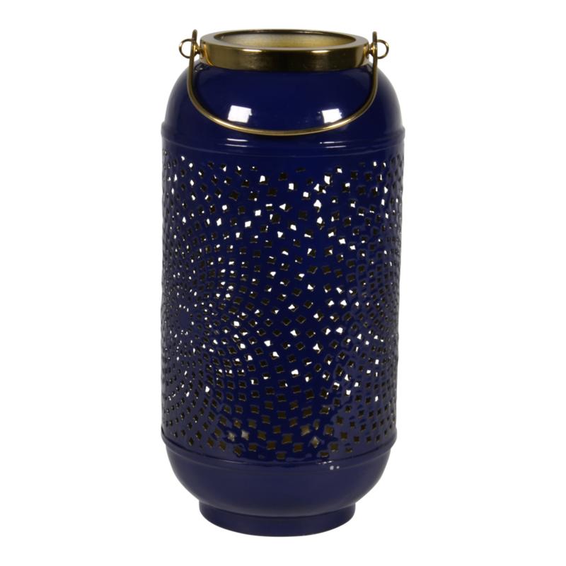 Windlicht Shine blue ø 17cm