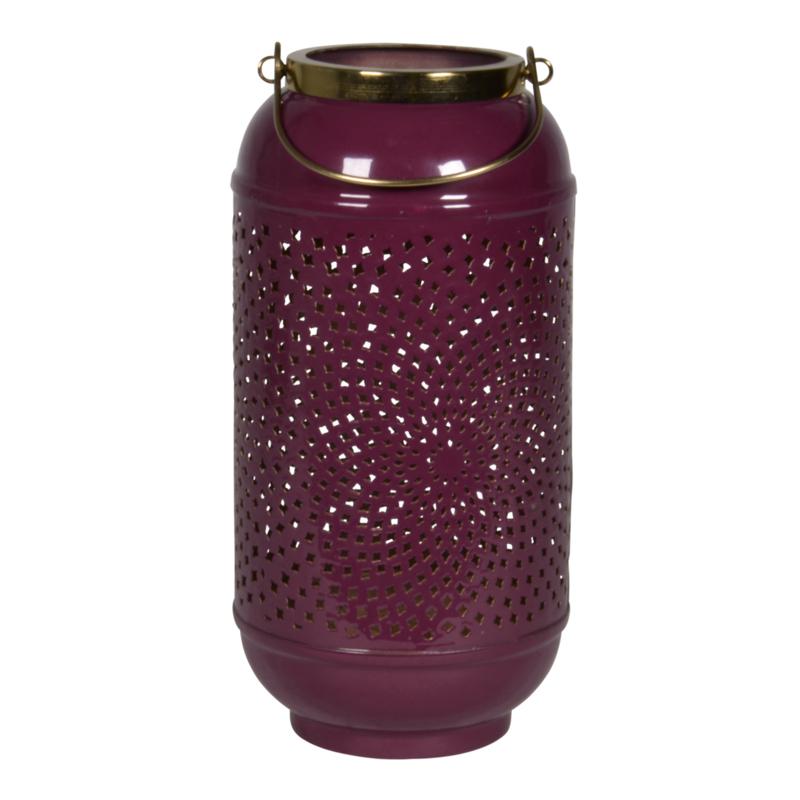 Windlicht Shine purple ø 17cm