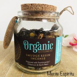 Frankincense & Mirre smudge