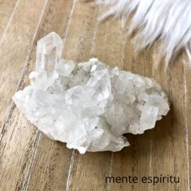 Bergkristal Cluster 124 gram