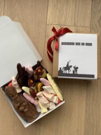 Groetjes van de Sint -> chocolade