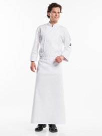 APRON WHITE W100 - L100 chauddevant 47283