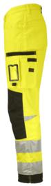 2221 Hi-Vis Service Trousers Star Workwear Werkbroek Jobman 65222107