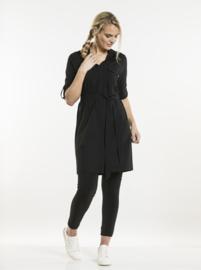 DRESS GINGER BLACK 822 Chaud Devant