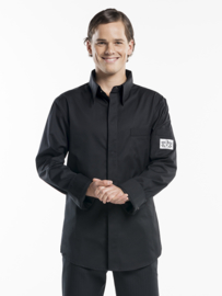 CHEF JACKET CHEF SHIRT BLACK chauddevant 972