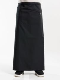 APRON 1-POCKET BLACK W120 - L100 chauddevant 47385