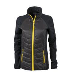 Ladies' Hybrid Jacket James Nicholson JN592