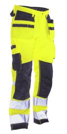 2222 Hi-Vis Trousers Star HP Workwear Werkbroek Jobman 65222207