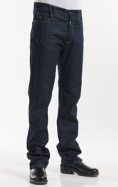 Chaud Devant Koksbroek Jeans Blue Denim Stretch