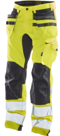 2240 Hi-Vis Stretch Trousers HP Workwear Werkbroek Jobman 65224062