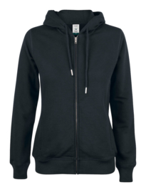 Premium OC Hoody Full Zip Ladies Vest Qlique 021005