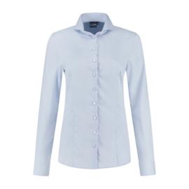 LCF Ledub 8009498 Roos lange mouw 100% cotton non iron