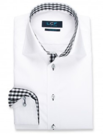 LCF Ledub Overhemd 8038522 Tailored Fit lange mouw