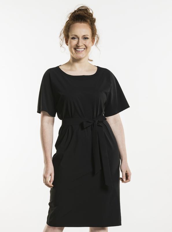 DRESS FENNEL BLACK 821 Chaud Devant