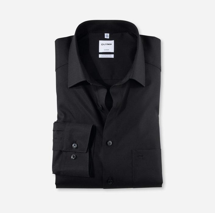 OLYMP Luxor comfort fit / zwart /  New Kent