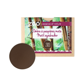 Refill matte oogschaduw 203 - Dark Brown