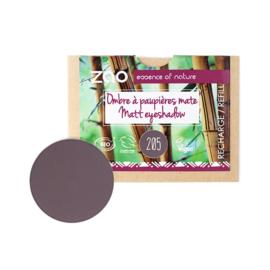 Refill matte oogschaduw 205 - Dark Purple