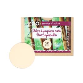 Refill matte oogschaduw 201 - Ivory