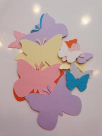 Stansjes papier Vlinders