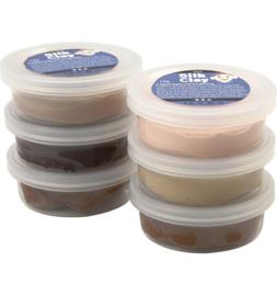 Silk Clay bruin tinten huidskleur