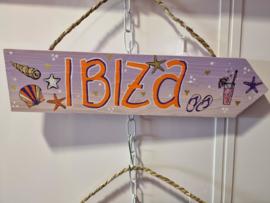 Ibizabordje Ibiza lila