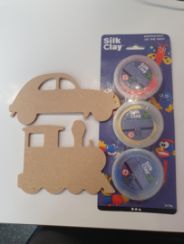 Set Silky Clay Transport