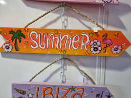 Ibizabordje Summer oranje