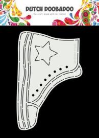 Mal van schoen