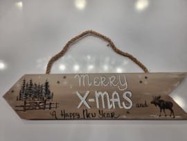 Christmas bruin Merry Christmas