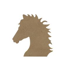 MDF Paardenhoofd  15 cm