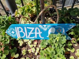 Ibiza bordje turkoise Ibiza olifant