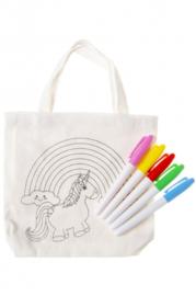 Color your bag  unicorn