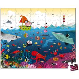 Puzzelkoffer onderwaterwereld   Janod