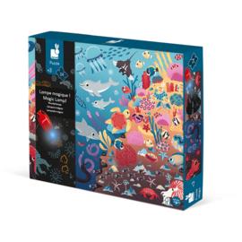 Magische puzzel van de oceaan | Janod