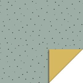 Cadeaupapier Little Dot | Faded Green
