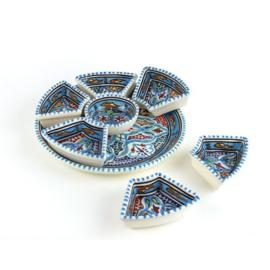 Tapas set mini | Lichtblauw