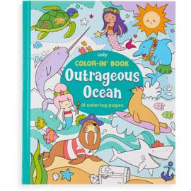 Kleurboek outrageous ocean   Ooly
