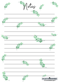Notes A6 | Eucalyptus