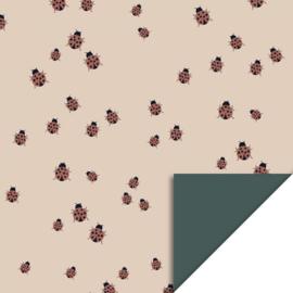 Cadeaupapier | Ladybug Beige