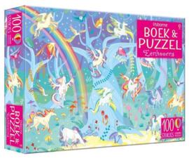 Eenhoorns | Boek & Puzzel