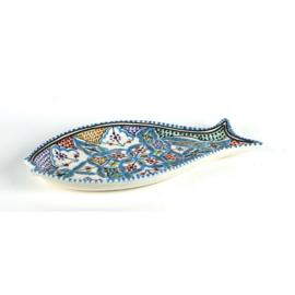 Schaal vis | Lichtblauw