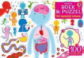 Het menselijk lichaam | Boek & Puzzel