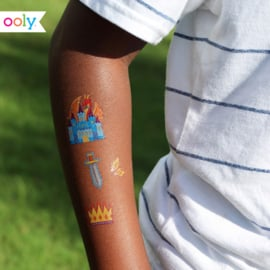 Temporary tattoos | Space explorers | Ooly