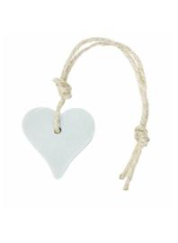 Zeep in hartvorm | Lichtblauw | Oregano & Olijf