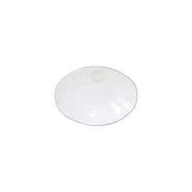Ovale schaal Nova | Wit
