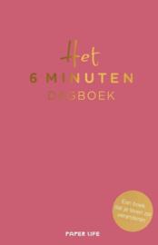 Het 6 minuten dagboek   Roze