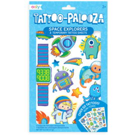 Temporary tattoos   Space explorers   Ooly