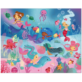 Puzzelkoffer zeemeerminnen | Janod