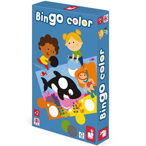 Kleuren bingo   Educatief spel   Janod